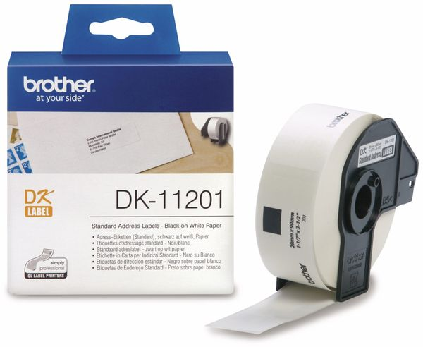 Adress-Etiketten BROTHER DK-11201