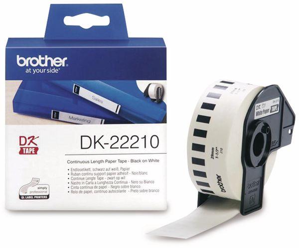 Endlos-Etikett BROTHER DK-22210