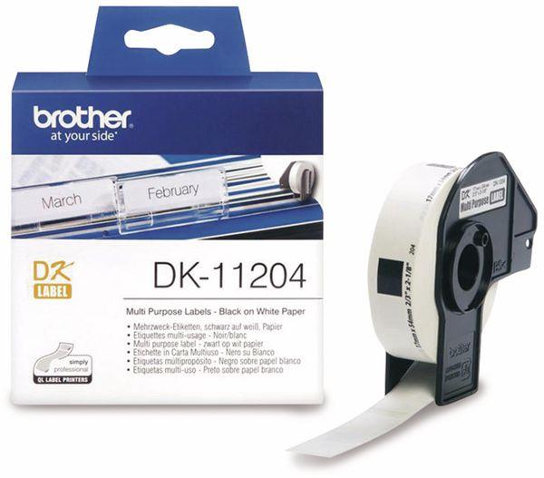 Mehrzweck-Etiketten BROTHER DK-11204