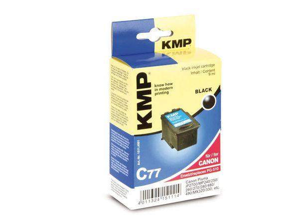 Tintenpatrone KMP, kompatibel für Canon PG-510, schwarz