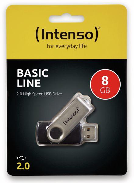 USB-Speicherstick INTENSO BasicLine, 8 GB - Produktbild 2