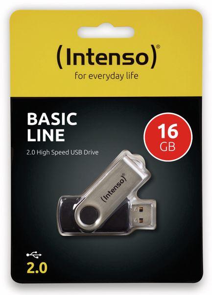 USB-Speicherstick INTENSO BasicLine, 16 GB - Produktbild 2
