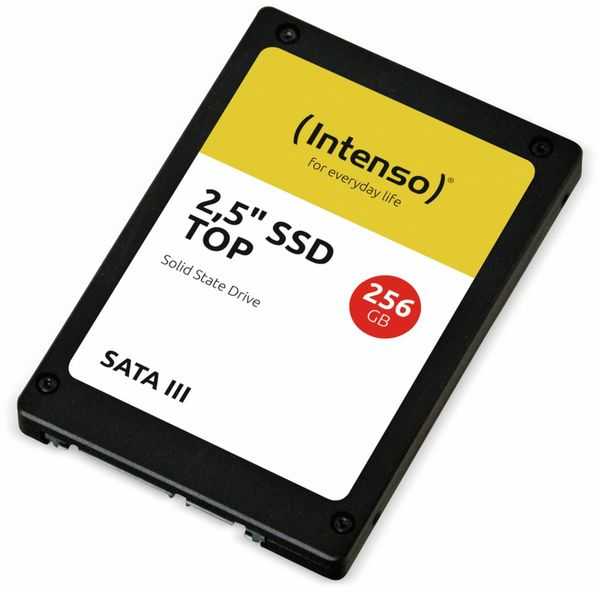 Intenso interne SSD-Festplatte, SATA III Top Performance, 256 GB