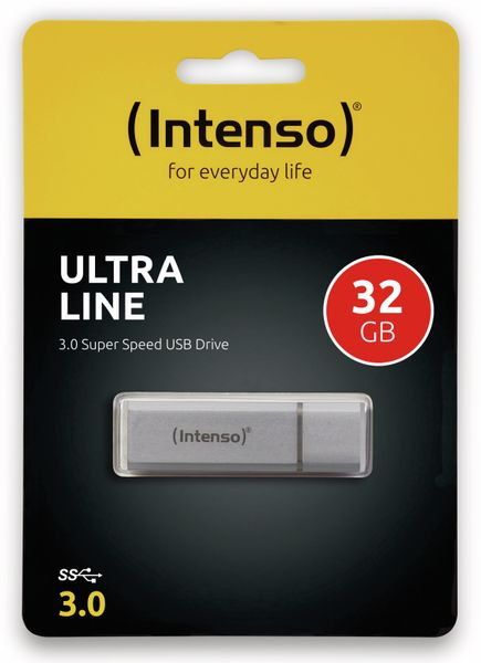 USB 3.0 Speicherstick INTENSO Ultra Line, 32 GB - Produktbild 2