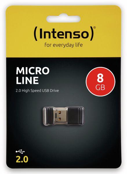 Nano-Speicherstick INTENSO Micro Line, 8 GB - Produktbild 2