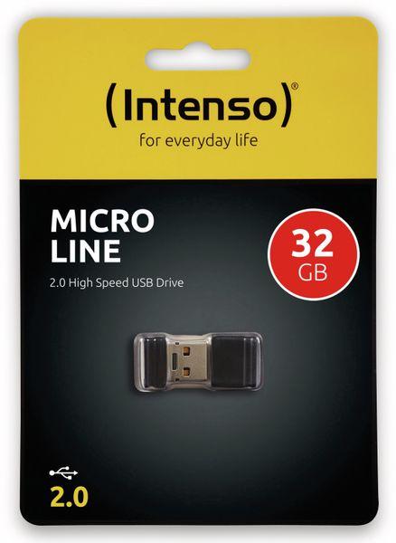 Nano-Speicherstick INTENSO Micro Line, 32 GB - Produktbild 2