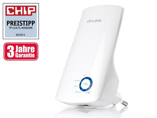 Universal WLAN-Repeater TP-LINK TL-WA850RE, 300 Mbps