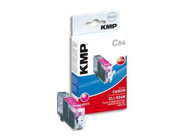Tintenpatrone KMP, kompatibel für Canon CLI-526M, magenta