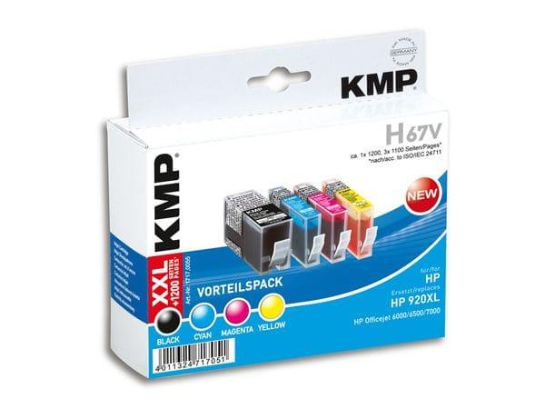 Tintenpatronen-Set KMP, kompatibel für HP 920XL