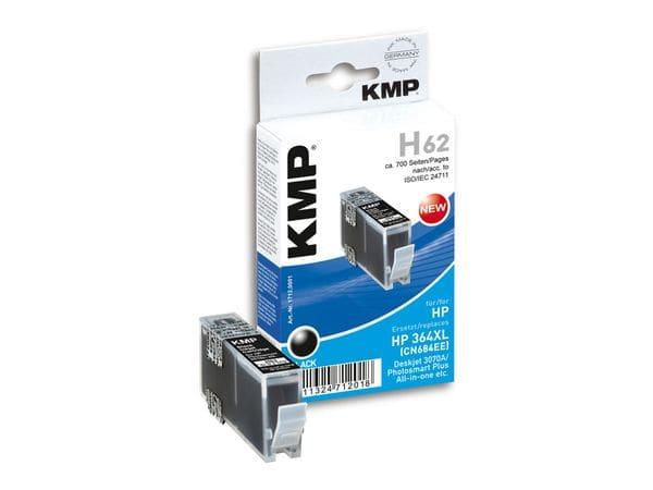 Tintenpatrone KMP, kompatibel für HP 364XL (CN684EE), schwarz