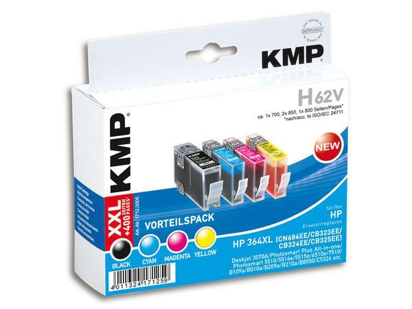 Tinten-Vorteils-Set KMP, kompatibel zu HP 364XL