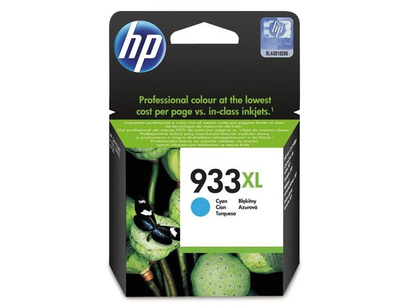 Tintenpatrone HP 933XL (CN054AE), cyan