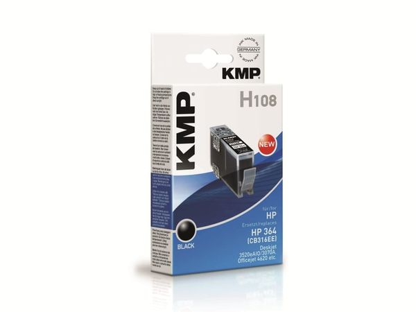 Tintenpatrone KMP, kompatibel für Canon CLI-551C XL, cyan