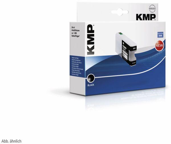 Tintenpatrone KMP, kompatibel für HP 364 (CB316EE), schwarz