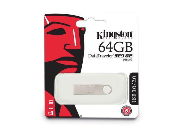 USB 3.0 Speicherstick KINGSTON DataTraveler SE9 G2, 64GB - Produktbild 3