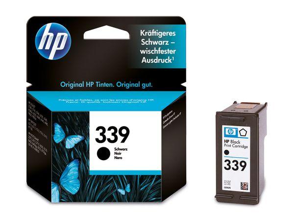 Tintenpatrone HP 339 (C8767EE), schwarz