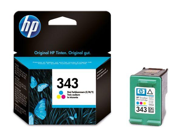 Tinte HP 343 (C8766EE), farbig