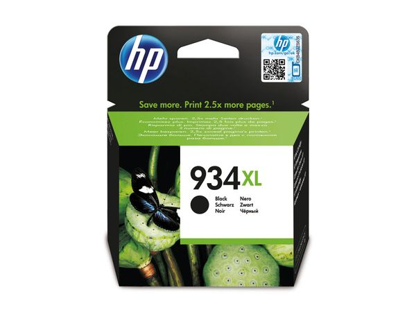 Tintenpatrone HP 934XL (C2P23AE), schwarz