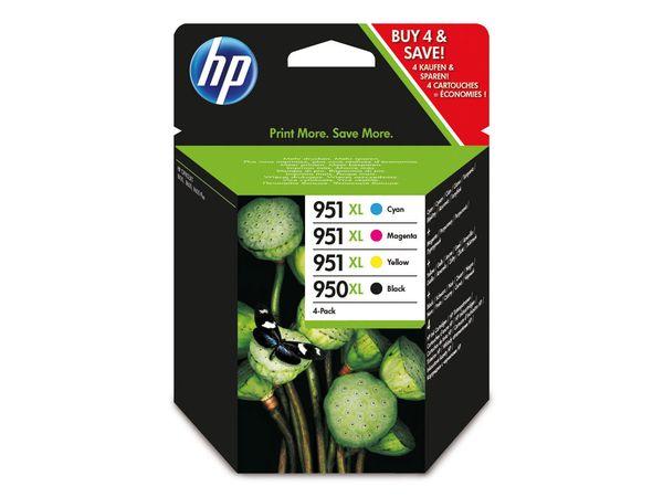 Tinten-Set HP 950XL + 951XL (C2P43AE), schwarz + farbig