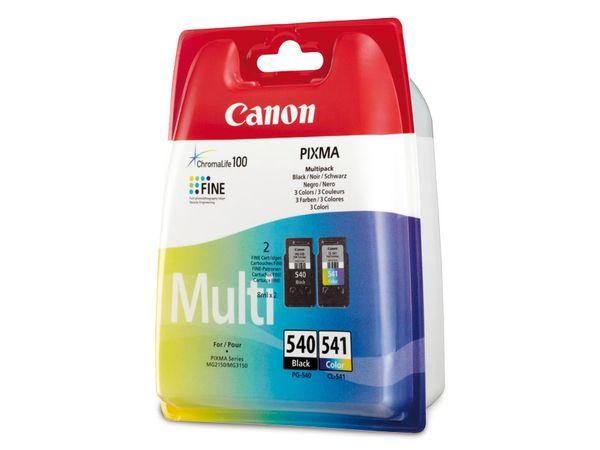Tinten-Set CANON CL541 + PG540, schwarz + farbig