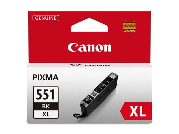 Tintenpatrone CANON CLI551BK XL, schwarz