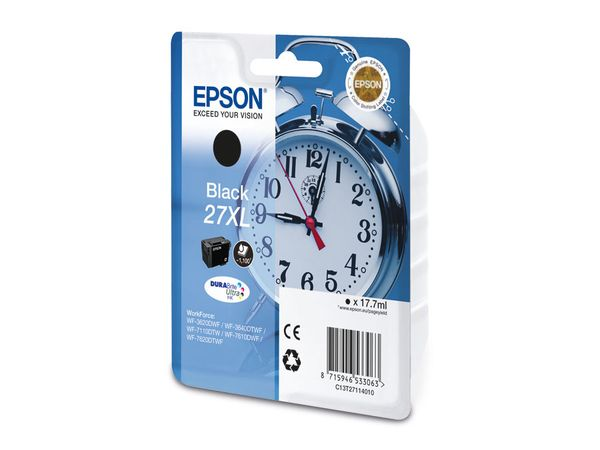 Tintenpatrone EPSON T27114010, schwarz