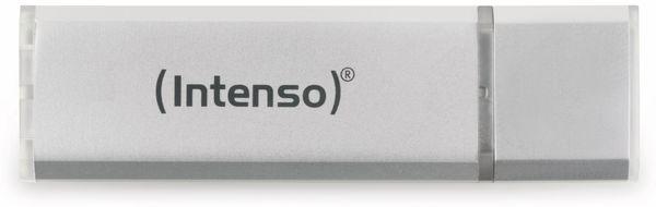 USB 2.0 Speicherstick INTENSO Alu Line, silber, 4 GB