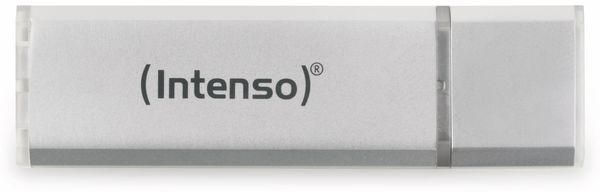USB 2.0 Speicherstick INTENSO Alu Line, silber, 16 GB