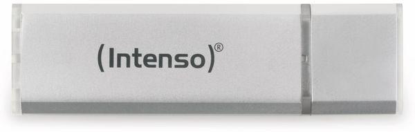 USB 2.0 Speicherstick INTENSO Alu Line, silber, 32 GB