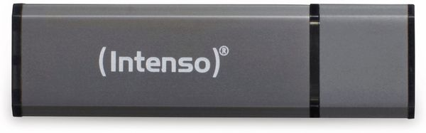 USB 2.0 Speicherstick INTENSO Alu Line, anthrazit, 4 GB