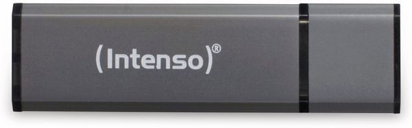 USB 2.0 Speicherstick INTENSO Alu Line, anthrazit, 32 GB