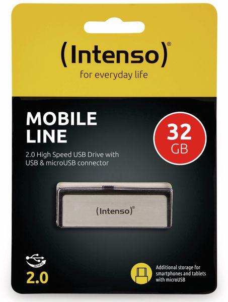 USB 2.0 Speicherstick INTENSO Mobile Line, 32 GB - Produktbild 2