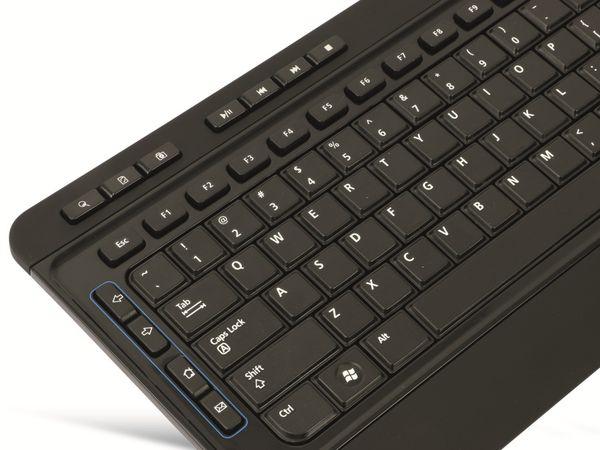 Kabelloses Tastatur/Maus-Set RED4POWER R4-T010B - Produktbild 6