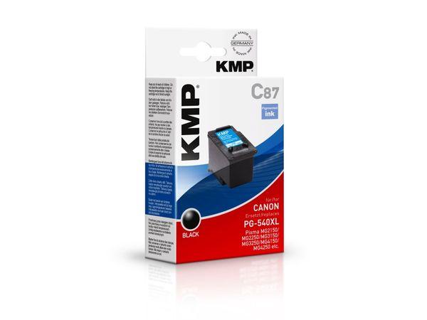 Tintenpatrone KMP, kompatibel für Canon PG-540XL, schwarz