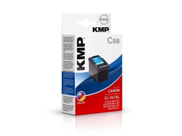 Tintenpatrone KMP, kompatibel für Canon CL-541XL, 3-Color