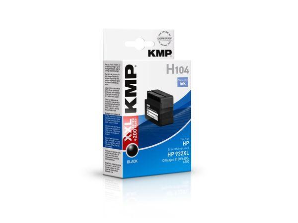 Tintenpatrone KMP, kompatibel für HP 932XL (CN053AE), schwarz