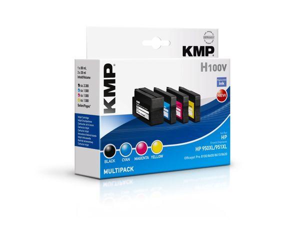 Tintenpatronen-Set KMP, kompatibel für HP 950XL/951XL