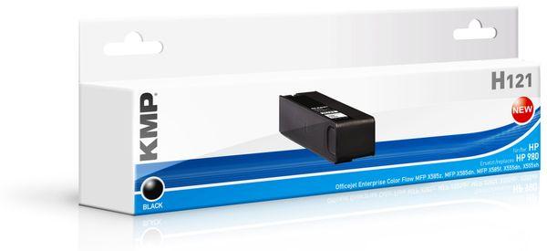 Tintenpatrone KMP, kompatibel für HP 980 (D8J10A), schwarz