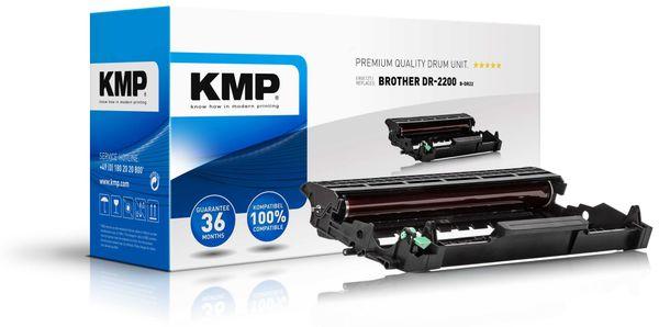 Trommeleinheit KMP, kompatibel für Brother DR2200, schwarz