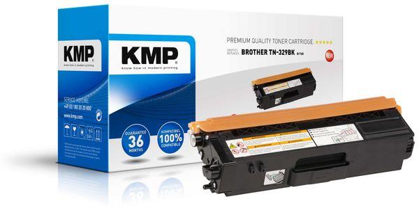 Toner KMP B-T65, kompatibel für TN329BK, schwarz