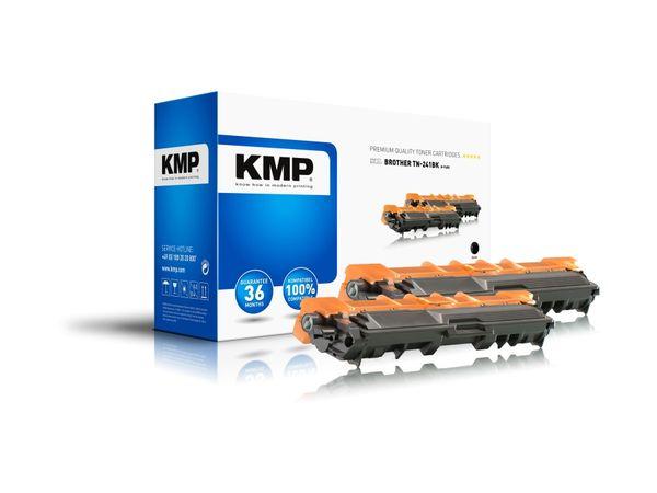 Toner KMP B-T48D, kompatibel für TN241BK, schwarz, 2 Stück