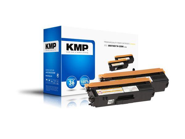 Toner KMP B-T38D, kompatibel für TN325BK, schwarz, 2 Stück