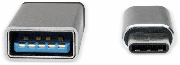 USB-Adapter Set, USB-C/USB-A + USB-C/Micro-USB - Produktbild 3