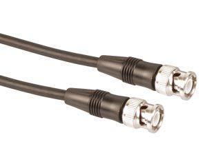 BNC-Kabel, 5m, 50Ω, Stecker/Stecker, schwarz