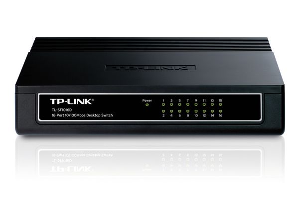 Netzwerk-Switch TP-LINK TL-SF1016D, 16-Port