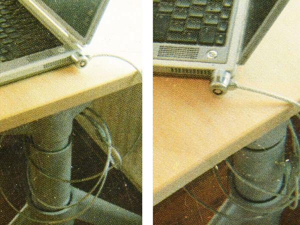 Laptop-Diebstahlsicherung mit Schlüsseln - Produktbild 3