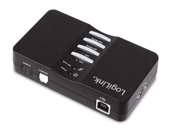 7.1 Kanal USB 2.0-Soundbox LogiLink UA0099 - Produktbild 2