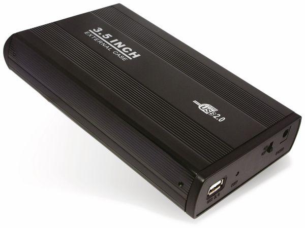 """8,9 cm (3,5"""") Festplatten-Gehäuse, USB 3.0 zu SATA, schwarz"""