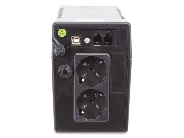 USV mit Display POWERWALKER VI650 LCD - Produktbild 3