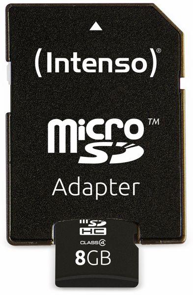 MicroSDHC Card, 8 GB, INTENSO - Produktbild 4